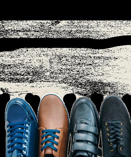 calzature maschili di fila